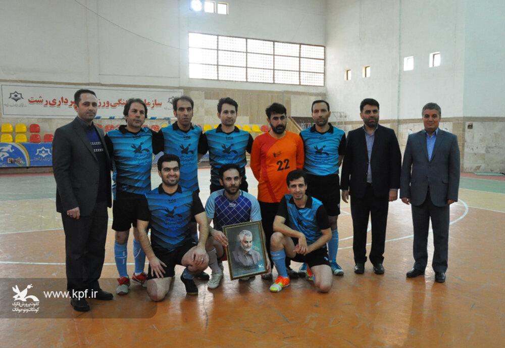 راهیابی تیم فوتسال کانون استان اردبیل به مرحله پایانی مسابقه سراسری فوتسال کارکنان