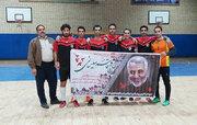پیروزی تیم فوتسال کانون لرستان مقابل تیم کانون خوزستان