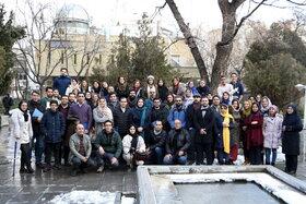 گردهمایی منجمان پیشکسوت کانون در رصدخانه زعفرانیه