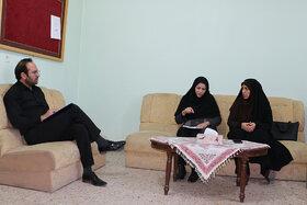 بازدید از مراکز فرهنگیهنری حوزهی غرب استان سمنان