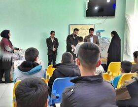میزبانی از کودکان کار در مرکز شماره ۸ کانون پرورش فکری کرمانشاه