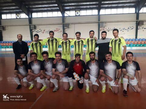 صعود مقتدرانه تیم کانون استان کرمانشاه به دور بعدی مسابقههای فوتسال کارکنان کانون کشور