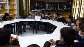 گرامیداشت ایام فاطمیه در کتابخانه سیار روستایی، مراکز زرین آباد و ماهنشان