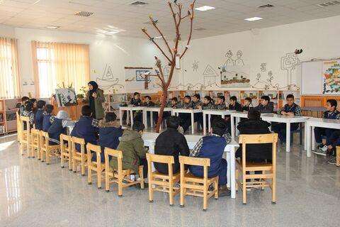 ویژه برنامه های بزرگداشت شهید سپهبد  سلیمانی در کانون پرورش فکری استان