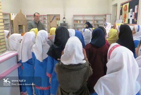 آشنایی دانشآموزان زاهدانی با فعالیتهای کانون پرورش فکری