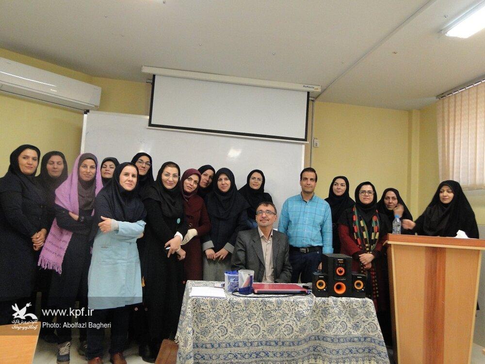 کارگاه آموزش مباحث مربوط به میراث فرهنگی ویژه مربیان فرهنگی کانون پرورش اصفهان برگزار شد