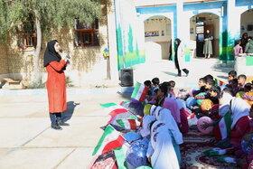 پیک امید در روستای علی آباد تنگستان