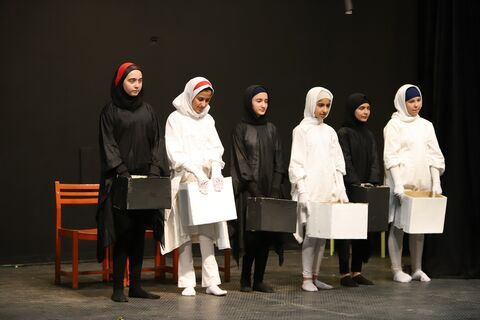 پایان بخش رقابتی مرحله استانی هجدهمین جشنواره هنرهای نمایشی کانون در قزوین