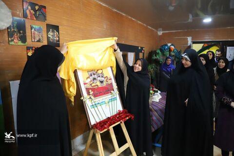 آیین اختتامیه مرحله استانی هجدهمین جشنواره هنرهای نمایشی کانون در قزوین