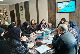 کارگروه کودک و نوجوان ستاد دههی فجر کانون پرورش فکری استان همدان تشکیل جلسه داد
