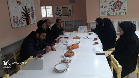 کارگروه کودک و نوجوان ستاد بزرگداشت چهل و یکمین سالگرد پیروزی انقلاب نایین برگزار شد
