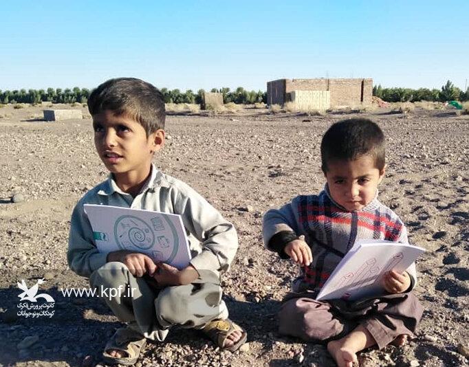 پیک امید هرمزگان در بین کودکان سیلزده سیستان و بلوچستان