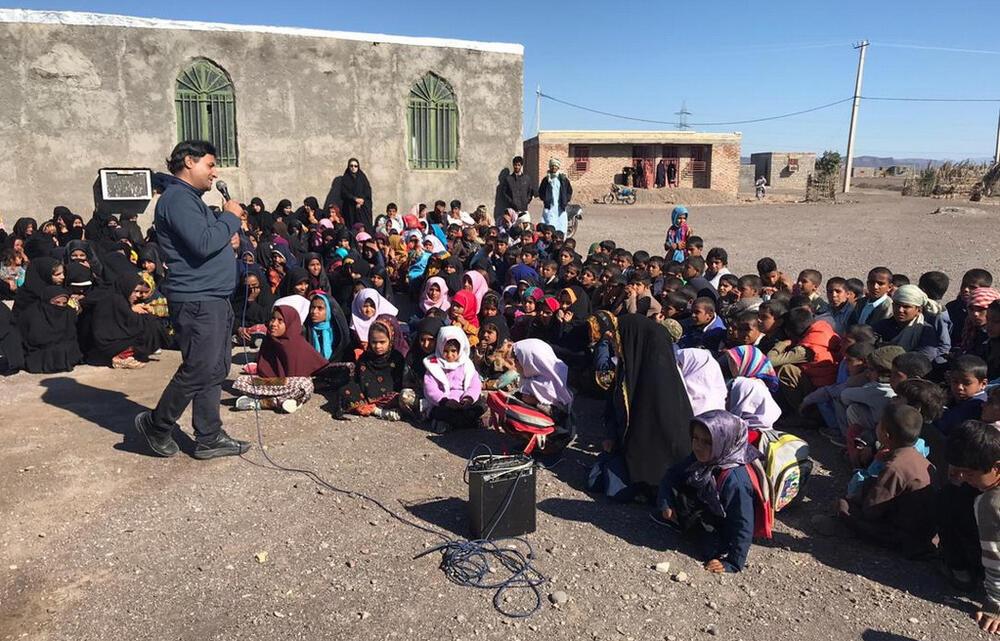 حضور مربیان سیار کانون کرمان در مناطق سیلزده استان سیستان و بلوچستان