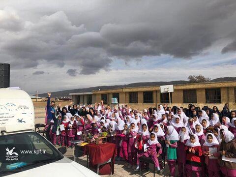 حضور پیک امید کانون فارس در روستای کدنج