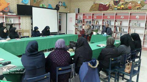 برگزاری پودمان آموزشی«بحث کتاب در مراکز» در کانون زنجان