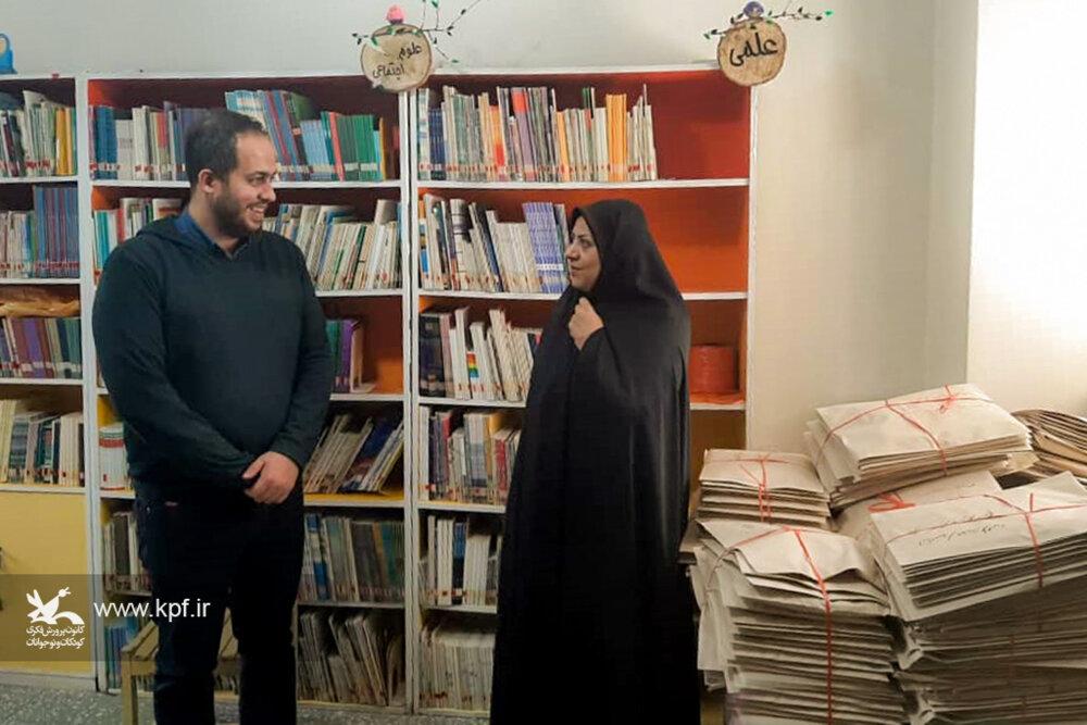مدیرکل کانون استان همدان به صورت سرزده از مرکز فرهنگیهنری شماره ۳ و واحد پستی همدان بازدید کرد