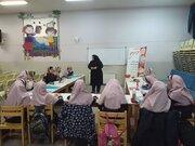 شرکت فعال دانش آموزان ابتدایی در برنامه های کانون پرورش فکری شماره دو اصفهان