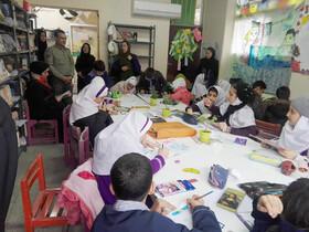 مسابقه نقاشی هوای پاک در کانون پرورش فکری قائمشهر برگزار شد