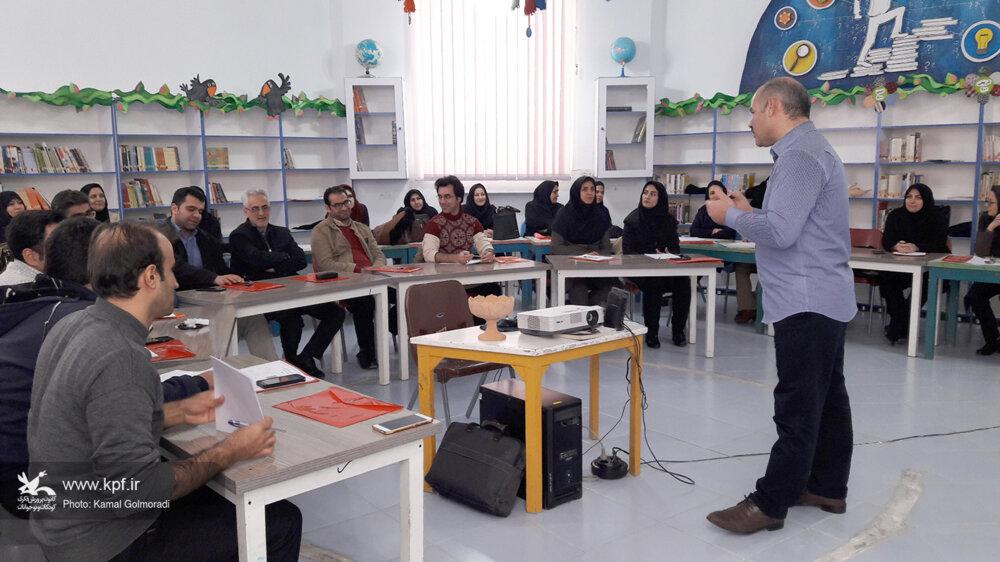 آموزش بازی های فردی و گروهی در کانون لرستان