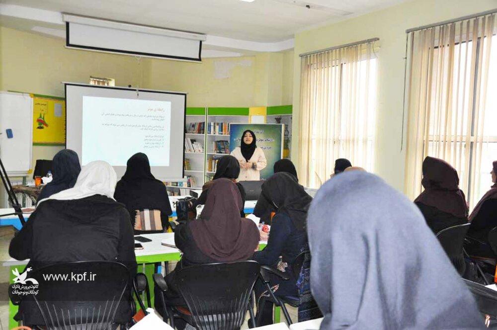 برگزاری کارگاه آموزشی «ارتباط موثر با کودک ونوجوان»