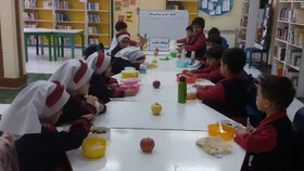 کارگاه آموزشی غذاهای سالم در مرکز آببر