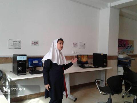 اولین جلسهی کارگاه آموزش قصهگویی به همت مربی مرکز شماره ۶