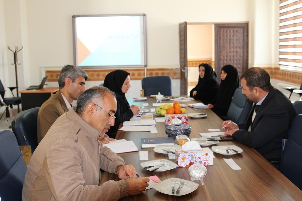 جلسه کارگروه کودک و نوجوان دهه مبارک فجر برگزار شد