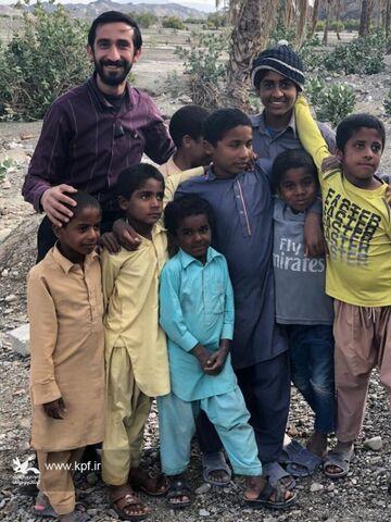 حضور مربیان کانون فارس در سیستان و بلوچستان