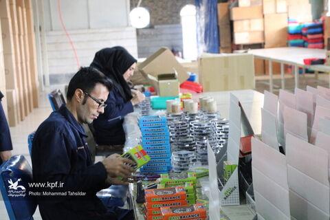 بازدید معاون تولید کانون از مجتمع آفرینشهای استان قم