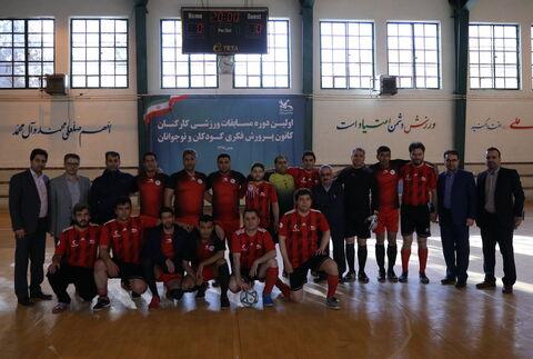 تیم فوتسال کانون فارس نایب قهرمان شد