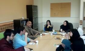 انجمن ادبی آفرینش، تشکیل جلسه داد