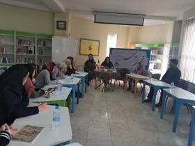 اولین جلسه انجمن ادبی کانون البرز در کرج