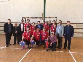 تیم فوتسال آذربایجان شرقی قهرمان مسابقات کارکنان کانون کشور شد