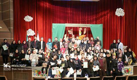 آیین اختتامیه هجدهمین جشنواره هنرهای نمایشی  کانون گلستان