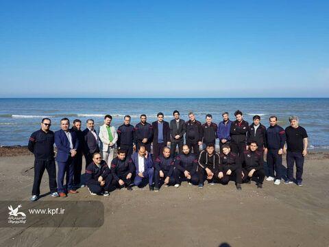 حضور تیم فوتسال کانون پرورش فکری مازندران در اولین دوره مسابقات فوتسال کارکنان کانون پرورش فکری کشور در چالوس