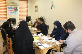 جلسهی هماندیشی اعضای کارگروه کودک و نوجوان در کانون سمنان