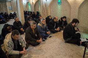 مراسم سوگواری شهادت حضرت زهرا(س) در کانون استان همدان برگزار شد