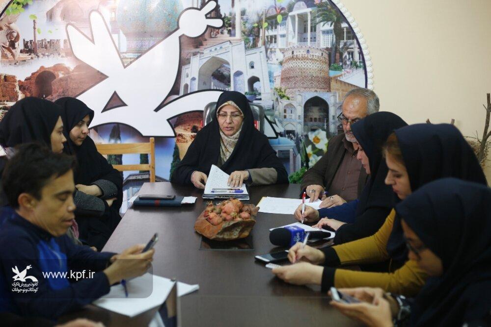 برگزاری جشنواره ملی هنرهای نمایشی کانون پرورش فکری فارس