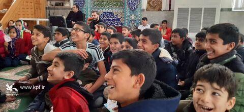 امداد فرهنگی کانون پرورش فکری در روستاهای کمتر توسعه یافته گلستان