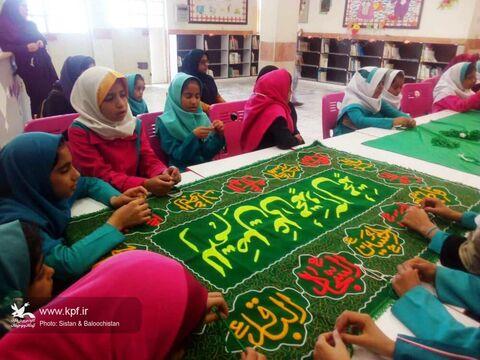 مراسم سوگواری سالروز شهادت حضرت فاطمه(س) در مراکز کانون پرورش فکرس سیستان و بلوچستان برگزار شد