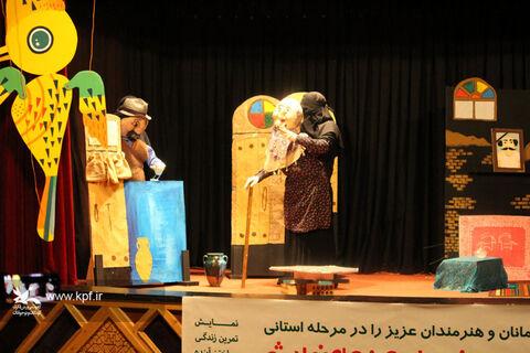 مرحله استانی هجدهمین جشنواره هنرهای نمایشی کانون آذربایجان شرقی