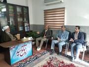 دیدار مسوول کارگروه کودک و نوجوان ستاد دهه فجر استان با نماینده ولی فقیه استان