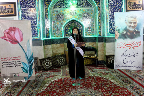 آیین تجدید پیمان با امام خمینی(ره) و شهدای انقلاب اسلامی در رشت