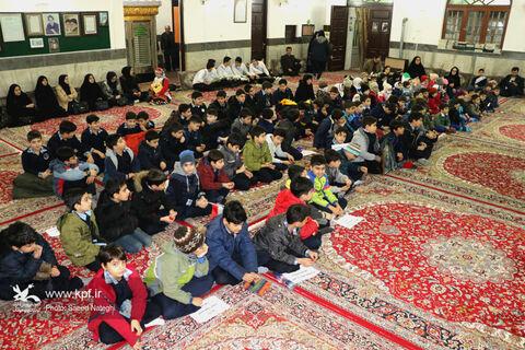 گلزار شهدای انقلاب اسلامی، گلباران دستان کودکان و نوجوانان گیلانی