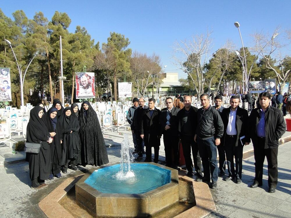 تجدید میثاق کارکنان کانون پرورش فکری کودکان و نوجوانان استان اصفهان با آرمان های انقلاب اسلامی