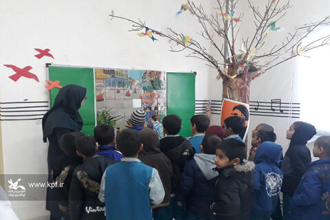 گشایش نمایشگاه دههی فجر در کانون آرادان