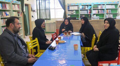 بازدید مدیرکل کانون استان قزوین از سه مرکز کانون در شهرستان آبیک
