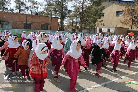 سفر پیک امید کانون سمنان به روستای خیرآباد