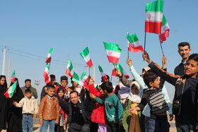 مناطق روستایی هویزه میزبان کاروان «فجرانه پیک اُمید» خوزستان