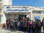 روز ملی فناوری فضایی در مرکز علوم و نجوم کانون زنجان